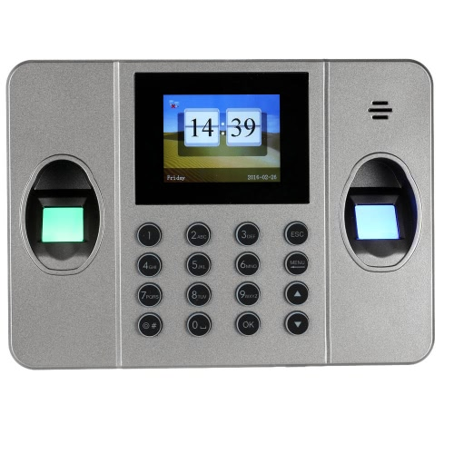 2.4 TFT LCD Display Single Fingerprint Attendance Machine DC 5V/1A Time Clock Recorder Employee Check-in ReaderHome &amp; Garden<br>2.4 TFT LCD Display Single Fingerprint Attendance Machine DC 5V/1A Time Clock Recorder Employee Check-in Reader<br>