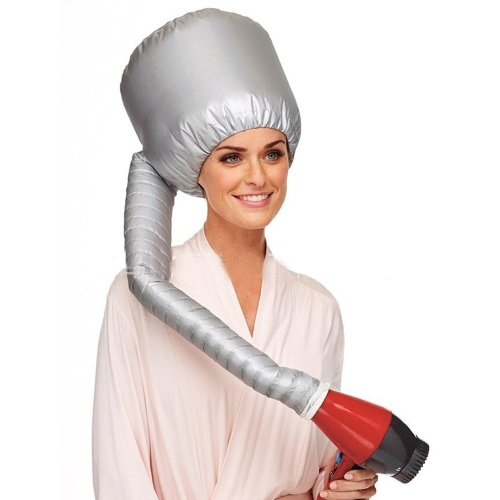 سهلة وآمنة عملية الشعر بيرم الرئيسية استخدام مجفف شعر قبعة