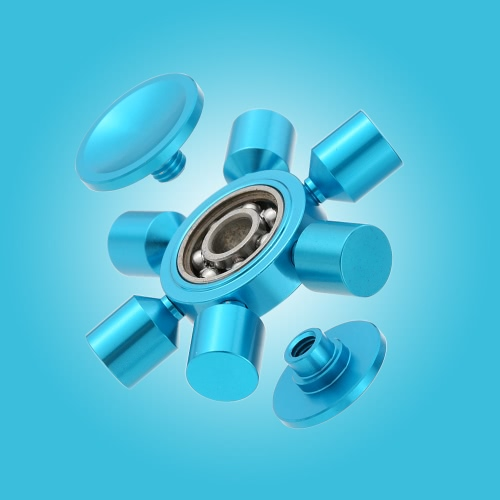 6 Arms Removable DIY Fidget Hand Finger Tri Stress Reducer Metal Spinner Spin Widget Focus Desk Toy for Fidgeters Anxiety Autism AHome &amp; Garden<br>6 Arms Removable DIY Fidget Hand Finger Tri Stress Reducer Metal Spinner Spin Widget Focus Desk Toy for Fidgeters Anxiety Autism A<br>