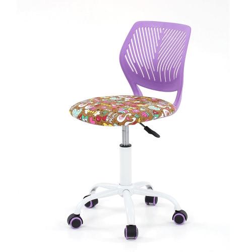 iKayaa Fashion Adjustable Fabric Teen Child Desk Chair Swivel Office Computer Task Chair Stool for KidsHome &amp; Garden<br>iKayaa Fashion Adjustable Fabric Teen Child Desk Chair Swivel Office Computer Task Chair Stool for Kids<br>