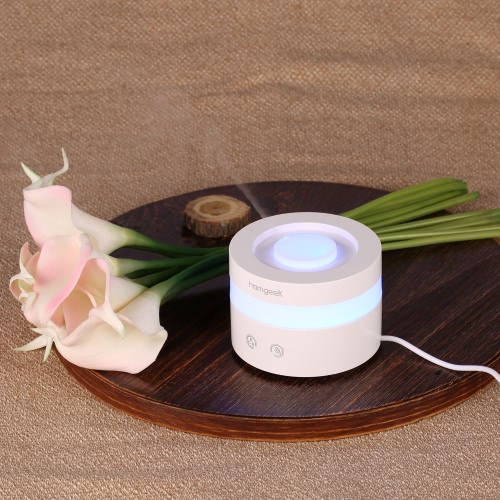 Homgeek Mini USB Humidifier Ultrasonic Aroma Oil Diffuser Air Purifier Mist Maker LED Night Light Home OfficeHome &amp; Garden<br>Homgeek Mini USB Humidifier Ultrasonic Aroma Oil Diffuser Air Purifier Mist Maker LED Night Light Home Office<br>