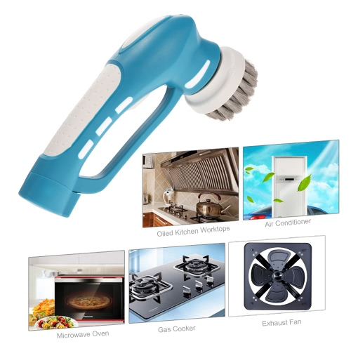 Electric Scrubber Kitchen Washing BBQ Cleaner Grill Machine Oil Stain Cleaning Brush Handheld Household   Cleaning ToolHome &amp; Garden<br>Electric Scrubber Kitchen Washing BBQ Cleaner Grill Machine Oil Stain Cleaning Brush Handheld Household   Cleaning Tool<br>