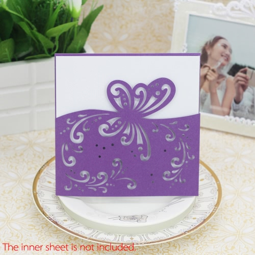 20pcs Romantic Wedding Party Invitation Cards Delicate Carved Butterfly Pattern Banquet DecorationHome &amp; Garden<br>20pcs Romantic Wedding Party Invitation Cards Delicate Carved Butterfly Pattern Banquet Decoration<br>