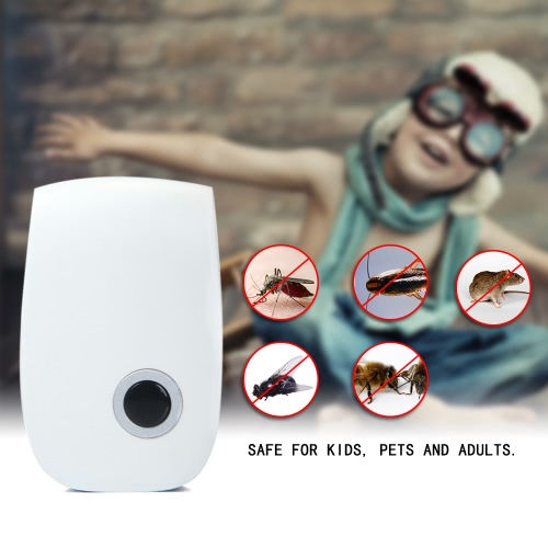 UltrasonicNon-toxic Pest Repeller Bug Mice Rat Spider Insect Cockroaches Multi-functional Repellent Electric Environmental ProtectHome &amp; Garden<br>UltrasonicNon-toxic Pest Repeller Bug Mice Rat Spider Insect Cockroaches Multi-functional Repellent Electric Environmental Protect<br>