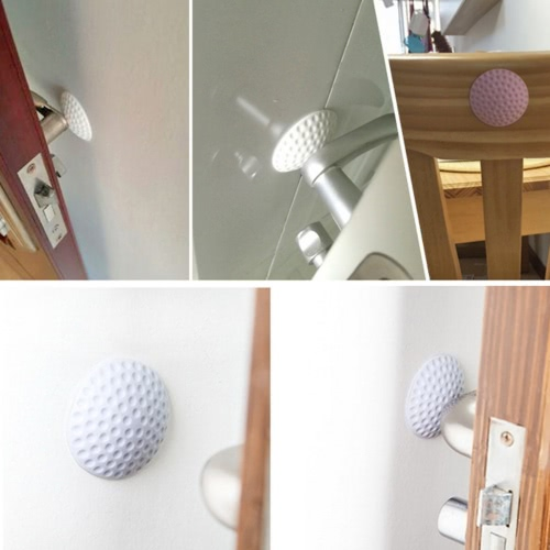 2Pcs Golf Ball Styling Rubber Anti-collision Mat Table Corner Protection Pad Round Wall Protector Self Adhesive Door Handle BumperHome &amp; Garden<br>2Pcs Golf Ball Styling Rubber Anti-collision Mat Table Corner Protection Pad Round Wall Protector Self Adhesive Door Handle Bumper<br>