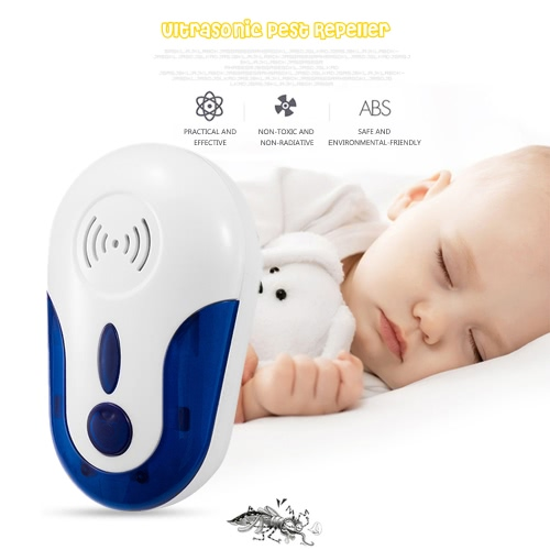Eletronic Pest Plug in Repeller Repels Spiders, Rats, Mice, Roaches, Mosquitoes, Other Insects Safe Ultrasonic Wave Home Pest ContHome &amp; Garden<br>Eletronic Pest Plug in Repeller Repels Spiders, Rats, Mice, Roaches, Mosquitoes, Other Insects Safe Ultrasonic Wave Home Pest Cont<br>