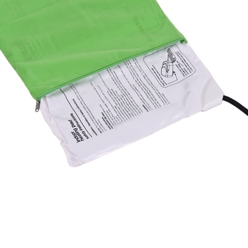 Electric Heating Pad Mat for Warming Dog Cat Pet Bed with Chew Resistant Cord Soft Removable Cover 7 Temperature Levels AdjustableHome &amp; Garden<br>Electric Heating Pad Mat for Warming Dog Cat Pet Bed with Chew Resistant Cord Soft Removable Cover 7 Temperature Levels Adjustable<br>