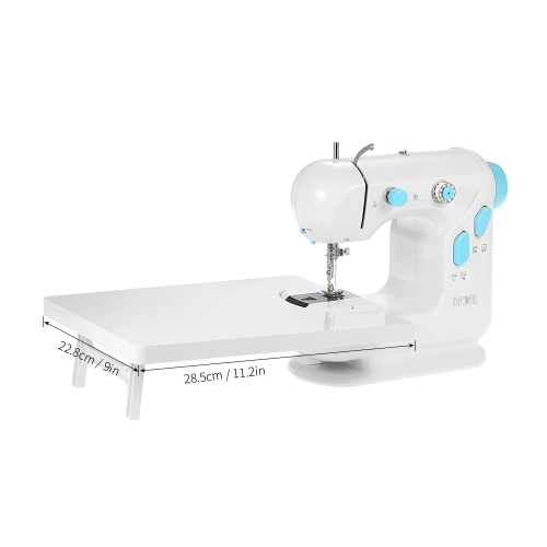Decdeal Multifunctional Electric Household Sewing Machine with Extension Table Double Thread Double Speed LED Light Foot Pedal AC1Home &amp; Garden<br>Decdeal Multifunctional Electric Household Sewing Machine with Extension Table Double Thread Double Speed LED Light Foot Pedal AC1<br>