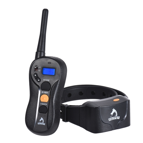 PATPET p-collarLarge Medium Small Dog Training Collar Beep/Vibra/Shock No Bark Collar 16 Sensitivity Control 656yd Remote RechargeHome &amp; Garden<br>PATPET p-collarLarge Medium Small Dog Training Collar Beep/Vibra/Shock No Bark Collar 16 Sensitivity Control 656yd Remote Recharge<br>