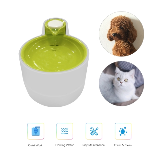 LED Pet Water Fountain Automatic Electric Drinking Bowl with Filter for Dogs Cats KittensHome &amp; Garden<br>LED Pet Water Fountain Automatic Electric Drinking Bowl with Filter for Dogs Cats Kittens<br>
