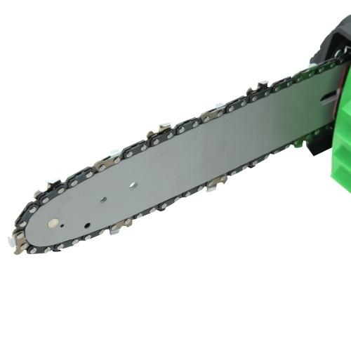 Herramientas eléctricas de la UE 18V Li-Ion Battery Cordless Electric Chainsaw 10'Bar and Chain Garden Power Tools