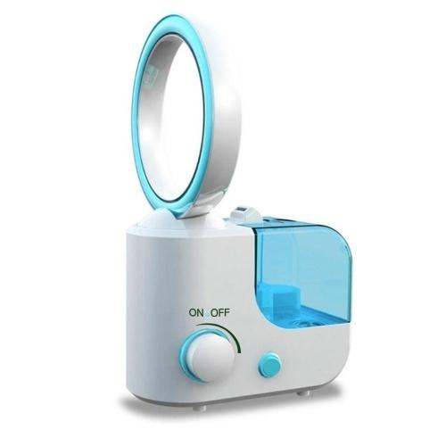 25W Household super mute air humidifier bladeless fan
