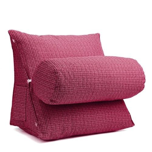Apoio da cintura do pescoço de volta travesseiro almofada de cunha