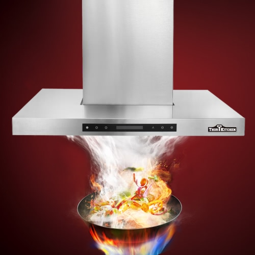 THOR KITCHEN HRH3004U 30 European Style Under Cabinet Wall-Mounted Kitchen Stainless Steel Range Hood Vent with Touch Sensor ContHome &amp; Garden<br>THOR KITCHEN HRH3004U 30 European Style Under Cabinet Wall-Mounted Kitchen Stainless Steel Range Hood Vent with Touch Sensor Cont<br>