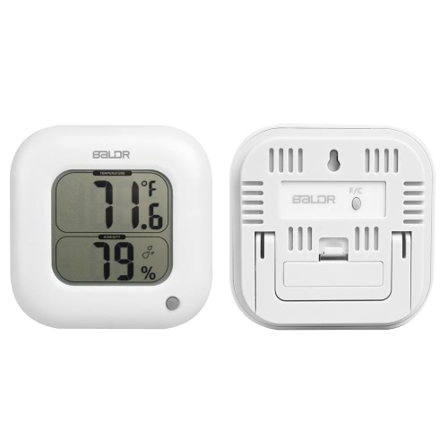 °C/°F Indoor Square Digital Thermometer Hygrometer Temperature Humidity Measurement Max Min Value DisplayHome &amp; Garden<br>°C/°F Indoor Square Digital Thermometer Hygrometer Temperature Humidity Measurement Max Min Value Display<br>