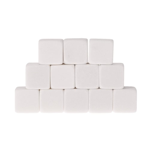 Anself 12pcs 18mm Whisky Ice Stones Drinks Cooler Cubes Beer Rocks Granite with PouchHome &amp; Garden<br>Anself 12pcs 18mm Whisky Ice Stones Drinks Cooler Cubes Beer Rocks Granite with Pouch<br>