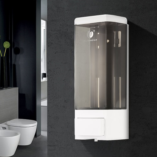 Anself CHUANGDIAN Manual Single Bottle Wall Mount Soap Dispenser 500ml Liquid Hand Cleanser Washroom Lotion Dispenser for HospitalHome &amp; Garden<br>Anself CHUANGDIAN Manual Single Bottle Wall Mount Soap Dispenser 500ml Liquid Hand Cleanser Washroom Lotion Dispenser for Hospital<br>