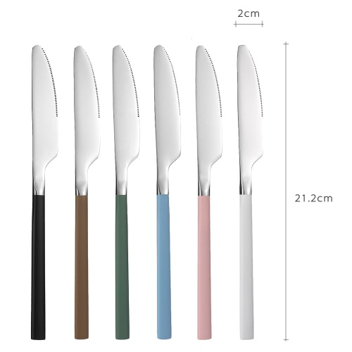 Anself High-end Flatware Knife Western Tableware Stainless Steel Good Quality Steak KnifeHome &amp; Garden<br>Anself High-end Flatware Knife Western Tableware Stainless Steel Good Quality Steak Knife<br>