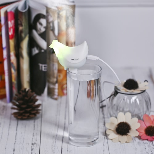USB DC5V Portable Ultrasonic Humidifier Home Office Mini Aroma Diffuser Aromatherapy Mist Maker with Colorful LED NightlightHome &amp; Garden<br>USB DC5V Portable Ultrasonic Humidifier Home Office Mini Aroma Diffuser Aromatherapy Mist Maker with Colorful LED Nightlight<br>