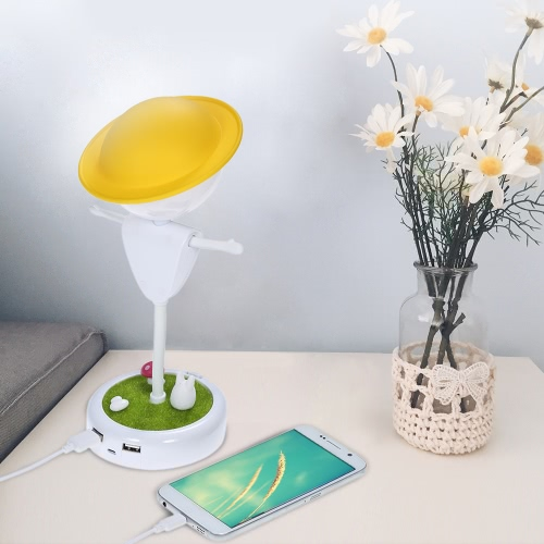 Scarecrow Style USB Rechargeable Vibration Sensor Baby Room LED Night Light Nursery Bedroom Lamp with USB PortHome &amp; Garden<br>Scarecrow Style USB Rechargeable Vibration Sensor Baby Room LED Night Light Nursery Bedroom Lamp with USB Port<br>