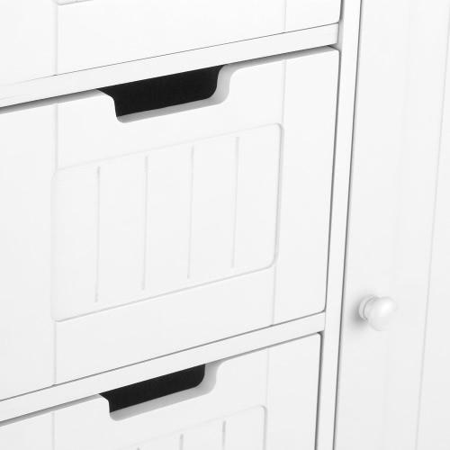 iKayaa Modern Shelved Floor Cabinet with Door &amp; Drawers Bedroom Storage Organizer Furniture White/BlueHome &amp; Garden<br>iKayaa Modern Shelved Floor Cabinet with Door &amp; Drawers Bedroom Storage Organizer Furniture White/Blue<br>