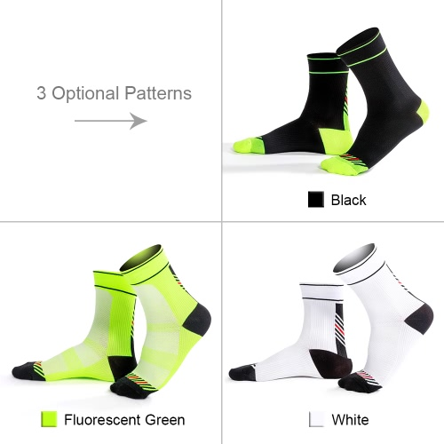 3 Pairs Mens Chinlon Athletic Cycling Socks Moisture Wicking Quick Dry Outdoor Running Hiking Socks for US 8.5-10 / UK 7.5-9 / EuHome &amp; Garden<br>3 Pairs Mens Chinlon Athletic Cycling Socks Moisture Wicking Quick Dry Outdoor Running Hiking Socks for US 8.5-10 / UK 7.5-9 / Eu<br>