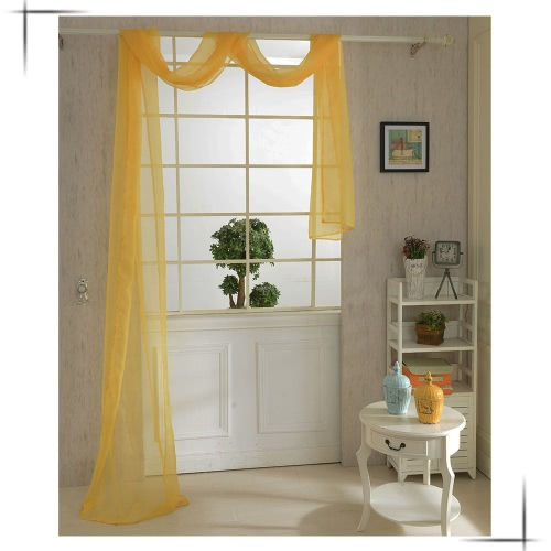 82*550cm Romantic Pure Color Voile Drapery Door Window Curtain for Living Room Wedding Banquet DecorationHome &amp; Garden<br>82*550cm Romantic Pure Color Voile Drapery Door Window Curtain for Living Room Wedding Banquet Decoration<br>