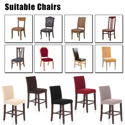 Soft Polyester Spandex Chair Cover Stretch Removable Slipcover Hotel Dining Meeting Room Chair Seat CoverHome &amp; Garden<br>Soft Polyester Spandex Chair Cover Stretch Removable Slipcover Hotel Dining Meeting Room Chair Seat Cover<br>