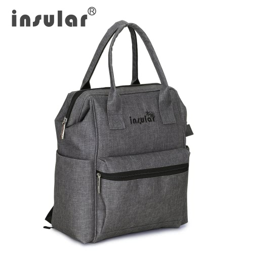 Insular Multifunctional Mommy Bag Excellent Water Resistance Nappy Bag Backpack Durable Shoulders Bag Baby Diaper Bag for Mom BabyHome &amp; Garden<br>Insular Multifunctional Mommy Bag Excellent Water Resistance Nappy Bag Backpack Durable Shoulders Bag Baby Diaper Bag for Mom Baby<br>