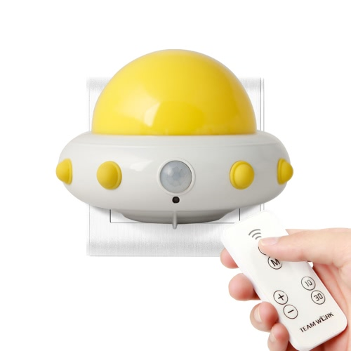 Infrared LED Night Light Wall Baby Room Nursery Adjustable Brightness Nightlight with Remote Control AC110-240VHome &amp; Garden<br>Infrared LED Night Light Wall Baby Room Nursery Adjustable Brightness Nightlight with Remote Control AC110-240V<br>