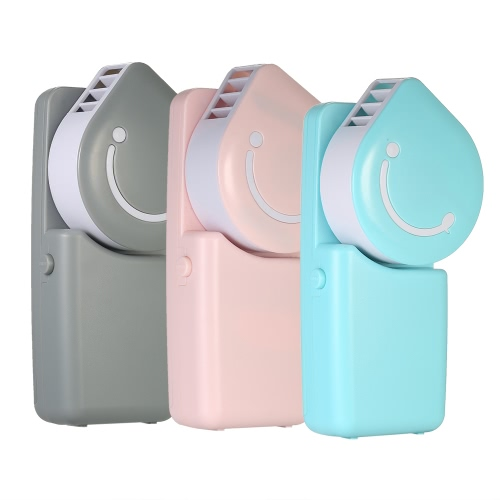 Portable Air Conditioning Water Cooling Fan Handheld USB Rechargeable Cooler Fan for Office Outdoor Events PinkHome &amp; Garden<br>Portable Air Conditioning Water Cooling Fan Handheld USB Rechargeable Cooler Fan for Office Outdoor Events Pink<br>
