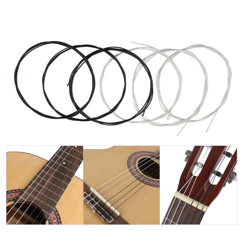 6pcs/set (.028-.043) Classical Guitar Strings Nylon Two Colors Normal TensionToys &amp; Hobbies<br>6pcs/set (.028-.043) Classical Guitar Strings Nylon Two Colors Normal Tension<br>