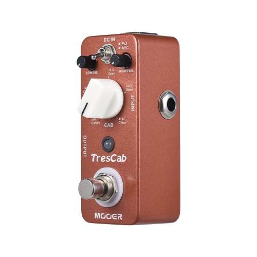 MOOER TresCab Cabinet Simulated Simulator Guitar Effect Pedal True Bypass Full Metal ShellToys &amp; Hobbies<br>MOOER TresCab Cabinet Simulated Simulator Guitar Effect Pedal True Bypass Full Metal Shell<br>