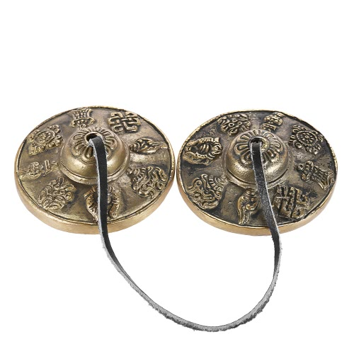 2.6in/6.5cm Handcrafted Tibetan Meditation Tingsha Cymbal Bell with Buddhist The Eight Auspicious SymbolsToys &amp; Hobbies<br>2.6in/6.5cm Handcrafted Tibetan Meditation Tingsha Cymbal Bell with Buddhist The Eight Auspicious Symbols<br>