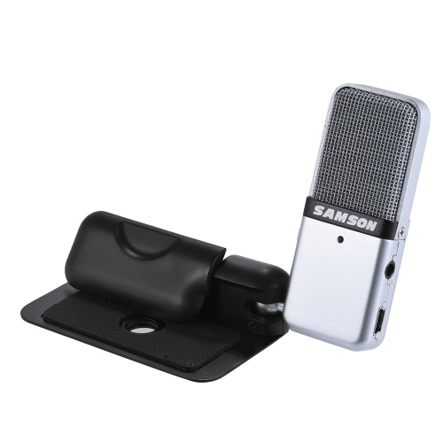 Samson GO Mic Mini Portable Recording Condenser Microphone Clip-on Design with USB Cable Carrying Case for Computer NoteBook TableToys &amp; Hobbies<br>Samson GO Mic Mini Portable Recording Condenser Microphone Clip-on Design with USB Cable Carrying Case for Computer NoteBook Table<br>