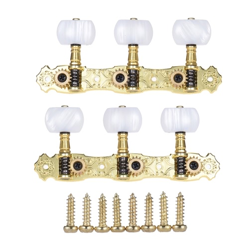 Alice AOS-022V1P 2pcs(L&amp;R) High-Grade Gold-plated Acoustic Classical Guitar Machine Heads Tuning Keys Pegs String TunersToys &amp; Hobbies<br>Alice AOS-022V1P 2pcs(L&amp;R) High-Grade Gold-plated Acoustic Classical Guitar Machine Heads Tuning Keys Pegs String Tuners<br>