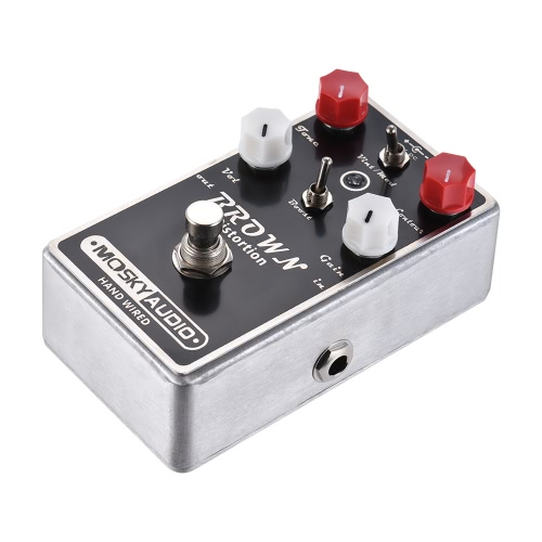 MOSKY BROWN High-quality Distortion Guitar Effect Pedal Full Metal Shell True BypassToys &amp; Hobbies<br>MOSKY BROWN High-quality Distortion Guitar Effect Pedal Full Metal Shell True Bypass<br>