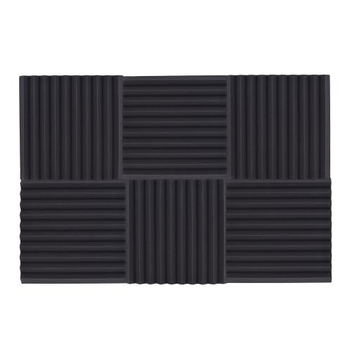 6 Pack Studio Acoustic Foams Sponge Panels Tiles Absorption Sound Insulation Triangle Foam Flame-retardant High Density 50 * 50cm/Toys &amp; Hobbies<br>6 Pack Studio Acoustic Foams Sponge Panels Tiles Absorption Sound Insulation Triangle Foam Flame-retardant High Density 50 * 50cm/<br>
