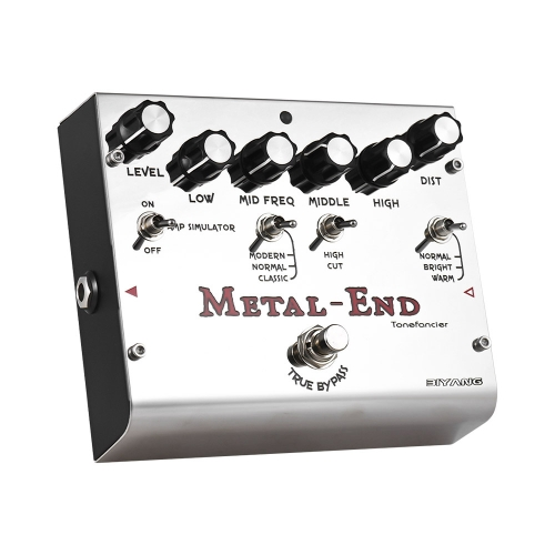 BIYANG METAL-END Pro Distortion Effect Pedal Built-in Amplifier Simulator EQ With True Bypass Full Metal ShellToys &amp; Hobbies<br>BIYANG METAL-END Pro Distortion Effect Pedal Built-in Amplifier Simulator EQ With True Bypass Full Metal Shell<br>