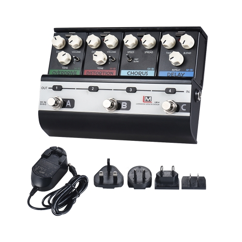 BIYANG LiveMaster Series LM-4 Mainframe Unit Fashionable Style Set with 4 Guitar Effect PedalsToys &amp; Hobbies<br>BIYANG LiveMaster Series LM-4 Mainframe Unit Fashionable Style Set with 4 Guitar Effect Pedals<br>