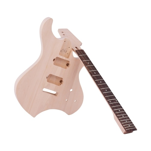 Muslady Unfinished DIY Guitarra Eléctrica Kit