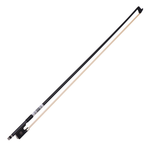 Well Balanced 3/4 Violin Fiddle Bow Carbon Fiber Round Stick Exquisite Horsehair Ebony FrogToys &amp; Hobbies<br>Well Balanced 3/4 Violin Fiddle Bow Carbon Fiber Round Stick Exquisite Horsehair Ebony Frog<br>