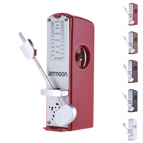 ammoon Portable Mini Mechanical Metronome Universal Metronome 11cm Height for Piano Guitar Violin Ukulele Chinese Zither Music InsToys &amp; Hobbies<br>ammoon Portable Mini Mechanical Metronome Universal Metronome 11cm Height for Piano Guitar Violin Ukulele Chinese Zither Music Ins<br>