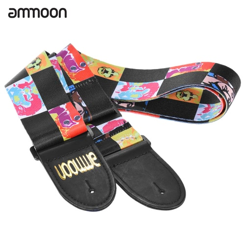 ammoon Adjustable Wide Soft Distinctive Strap Belt for Electric Acoustic Guitar Bass Fashionable DesignToys &amp; Hobbies<br>ammoon Adjustable Wide Soft Distinctive Strap Belt for Electric Acoustic Guitar Bass Fashionable Design<br>