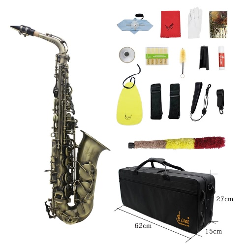 High Grade Antique Finish Bend Eb E-flat Alto Saxophone Sax Abalone Shell Key Carve Pattern with Case Gloves Cleaning Cloth StrapsToys &amp; Hobbies<br>High Grade Antique Finish Bend Eb E-flat Alto Saxophone Sax Abalone Shell Key Carve Pattern with Case Gloves Cleaning Cloth Straps<br>