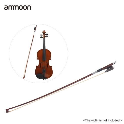 ammoon Full Size 4/4 Violin Fiddle Bow Well Balanced Round Brazil Wood Stick Horsehair ExquisiteToys &amp; Hobbies<br>ammoon Full Size 4/4 Violin Fiddle Bow Well Balanced Round Brazil Wood Stick Horsehair Exquisite<br>
