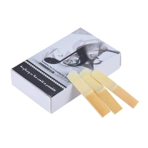 High Grade Soprano Saxophone Sax Bamboo Reeds Strength 2.5, 10pcs/ BoxToys &amp; Hobbies<br>High Grade Soprano Saxophone Sax Bamboo Reeds Strength 2.5, 10pcs/ Box<br>