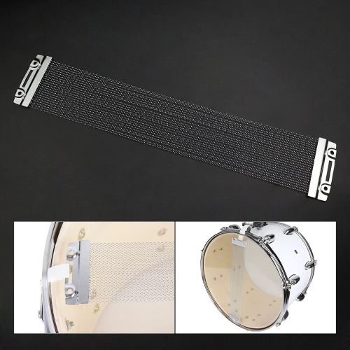 Steel Snare Wire 24 Strand Drum Spring for 14 Inch Snare Drum Cajon Box DrumToys &amp; Hobbies<br>Steel Snare Wire 24 Strand Drum Spring for 14 Inch Snare Drum Cajon Box Drum<br>