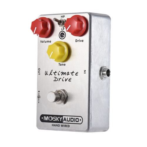 MOSKY Ultimate Drive Overdrive Guitar Effect Pedal Full Metal Shell True BypassToys &amp; Hobbies<br>MOSKY Ultimate Drive Overdrive Guitar Effect Pedal Full Metal Shell True Bypass<br>