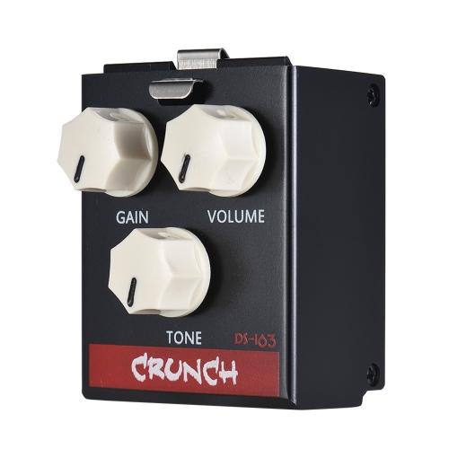 BIYANG LiveMaster Series DS-163 CRUNCH Distortion Guitar Effect Pedal Module True Bypass